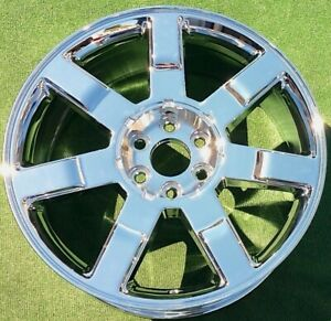 Cadillac Escalade 22 Wheel Oem Factory Gm Spec New 2010 2011 2012 Chrome 5309
