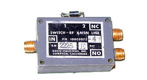 Daico Spdt Sma Rf Switch Dc 18ghz 100c0073 4