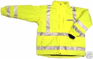 Ansi Class 3 Safety 3 in 1 Jacket Lime 28 5966 3xl