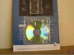 1000 Clear Vinyl Cd Sleeve With Adhesive Back V1