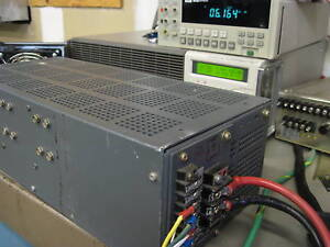 7v To 8v 30a Tested Regulated Linear Power Supply 7 5v 30 Amps Lambda Lcs ee 12
