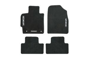 2007 2012 Mazda Cx 7 Floor Mats Carpet Black Front Rear Set 0000 8b M09