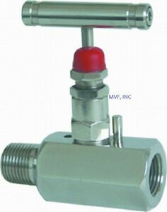 Needle Valve 1 2 Male Npt X 1 2 Female Npt 10 000 Psi Stainless Nace