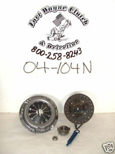 Suzuki Samurai Sidekick Clutch Kit 1 3l 4cyl 04 104n