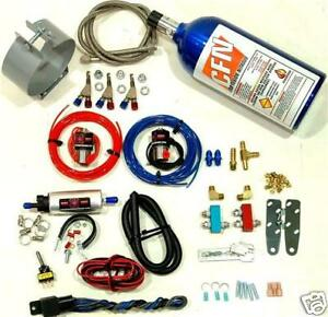 Motorcycle Nitrous Oxide Wet Kit 3 Nozzle Nos Nitrous Kit New