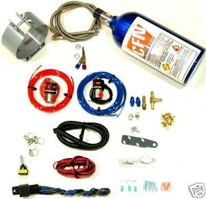 Motorcycle Nitrous Oxide Wet Kit Single Nozzle Nos Kit New