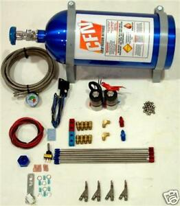 4 Cyl Direct Port Fogger Nitrous Kit New