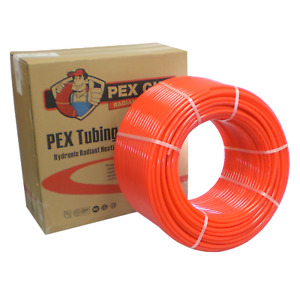 3 Boxes 1 2 X 1000 Ft Pex Tubing Oxygen Barrier Radiant Heating Nsf