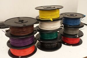 Type E 18 Awg Ptfe Wire High Temperature Wire 500 Ft Any Color