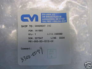 Cvi Melles Griot 50 50 Uv Partial Reflector For 355nm