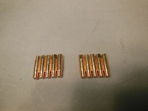 10 023 Contact Tips Snap on Mig Welders Parts