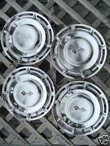 Vintage Antique 1960 60 Chevrolet Chevy Impala Belair Nomad Hubcaps Wheel Covers