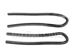 Lancia Appia Zagato Set Rear Side Window Seal New