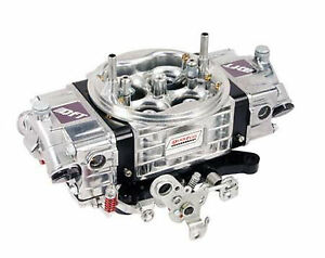 Quick Fuel Carburetor 750 Cfm Mechanical Drag Race Black Silver Rq 750 Custom