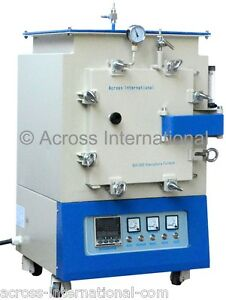 1400 c 16x12x12 Lab Controlled Atmosphere Muffle Box Melting Heating Furnace