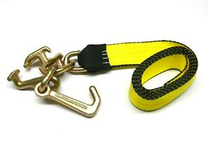 2 Rtj Cluster Hook Xhd Straps 2 X 8 Towing Tie Down Lift Recovery Auto Body