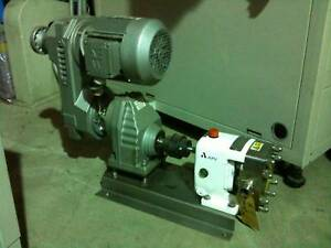 Apv Lobe Pump Cl1 012 15 With Variable Speed Gear Units