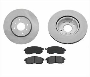 Front Rotors Pads 4 Piston Calipers Brembo For Nissan Sentra Se r Specv 04 06