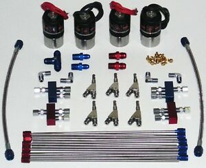 V6 Direct Port Fogger Nitrous Kit New