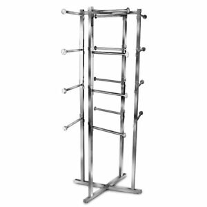 4 Way Folding Lingerie Store Display Rack 16 12 Round Straight Arms Chrome New