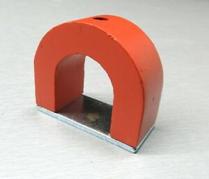 Magnets Alnico Horseshoe Power Magnet 8oz General Tool 32lb Pull Power Alnico