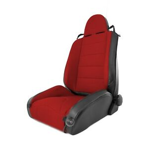 Front Xhd Offroad Racing Seat For Jeep Wrangler 1997 2006 13416 53 Red