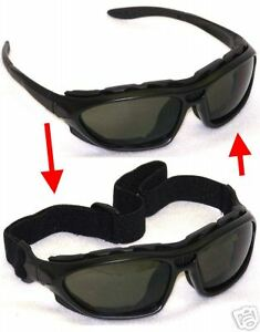 300 Prs Chameleos Padded Safety Sun Glasses Goggles S36