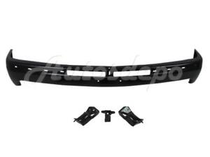 For 2000 2006 Suburban Tahoe 99 02 Silverado Front Bumper Black Face Bar Bracket