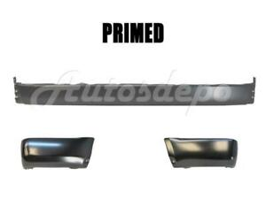 For 96 98 4runner Rear Bumper Bar Extension End Primed W o Flare Hole 3pcs