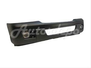 For 06 07 Ford Ranger Front Bumper Blk Apron Fog Light 4p