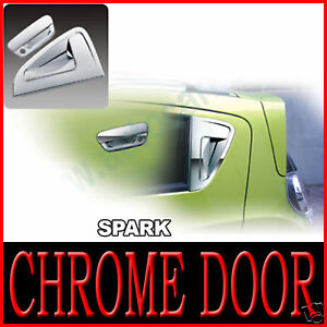 Chrome Door Handle Cover 8p For Chevy Holden 2010 2011 2012 2013 2014 Spark
