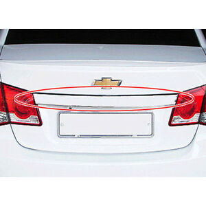 Oem Rear Trunk Chrome Trim 1p For 2009 2014 Chevy Holden Cruze