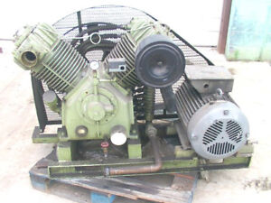 Swan 2 Cylinder Single Stage Air Compressor 30 Hp