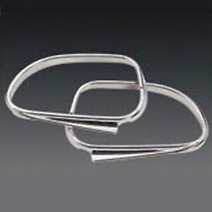 Chrome Mirror Cover 2p Kit For 2007 2008 2009 Up Chevy Lacetti 5d Optra