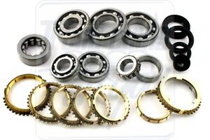Acura Integra Honda Civic Vtec S4c S21 Y21 Ys1 Transmission Bearing Kit 1992 00