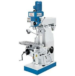 Brand New Knuth Vhf1 Drill Press Milling Machine Compact Horizontal Vertical