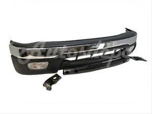 For 01 04 02 Tacoma Prerunner Bumper Up Valance Bar Brt Chr