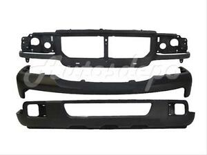 For 06 07 Ford Ranger Front Bumper Valance Header Panel 3pc