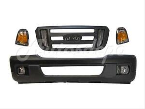 For 06 Ford Ranger Bumper Valance Grille Park Light Fog 7pc