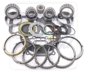 Ford Zf 5 Speed Transmission Bearing Kit 96 On W Synchro Rings
