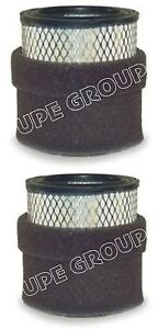 New 2 Pack Intake Filter Element For Air Compressor 18p