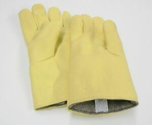 Gloves Heat Resistant High Temperature Casting Melting Furnace Glove 14 Pair