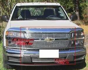 Fits 2004 2011 Chevy Colorado Billet Grille Combo Insert