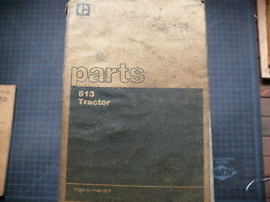 Cat Caterpillar 613 Tractor Parts Manual Book Catalog