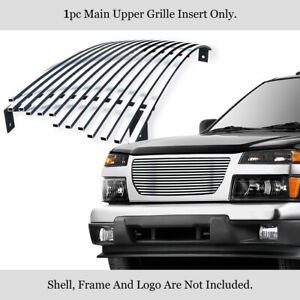 Fits 2004 2012 Gmc Canyon Main Upper Billet Grille Grill Insert
