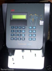 Time America Hand Punch 4000 Biometric Clock Ethernet