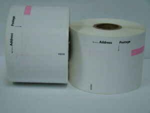 72 Rolls Of Dymo Labelwriter Compatible 30384 2 part Postage Labels 150 P r