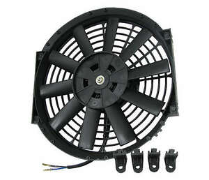 12 Inch Electric Pull Push Cfm 1550 Cooling Electrical 12v Radiator Fan