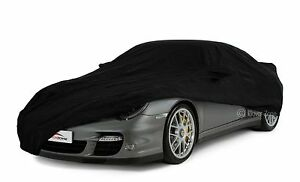 Porsche 997 C4s 05 On Fitted Black Indoor Car Cover