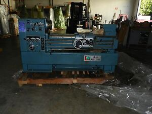 Precision High Speed Lathe Gla 1744 17 Swing 44 Center